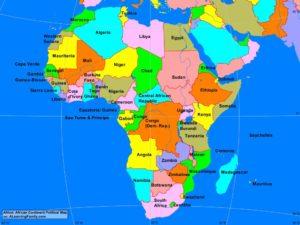 Africa Map Gepa Exporters Portal